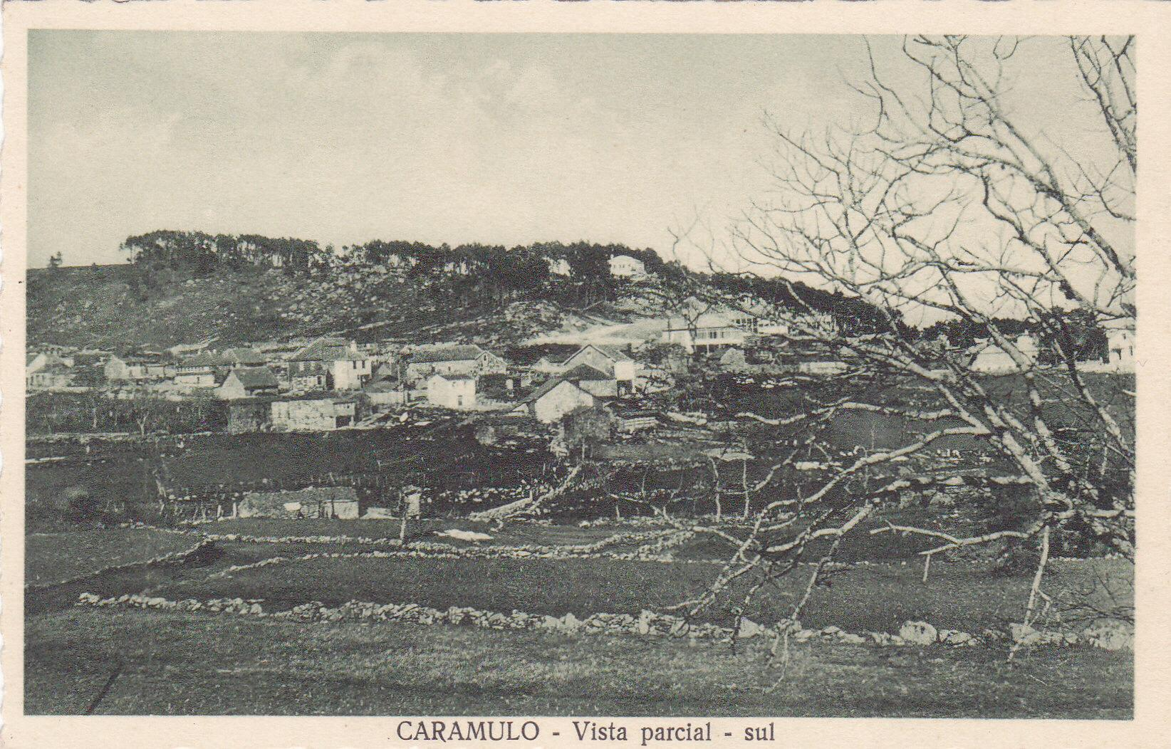 Caramulo vista parcial sul anos 30