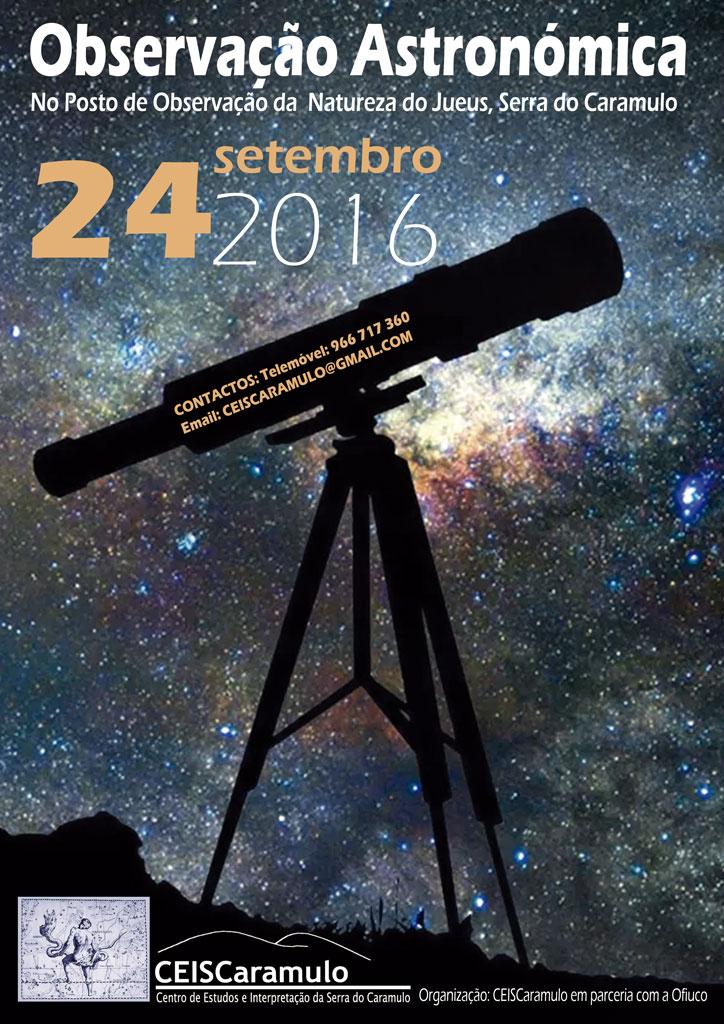 Observação Astronómica no Caramulo
