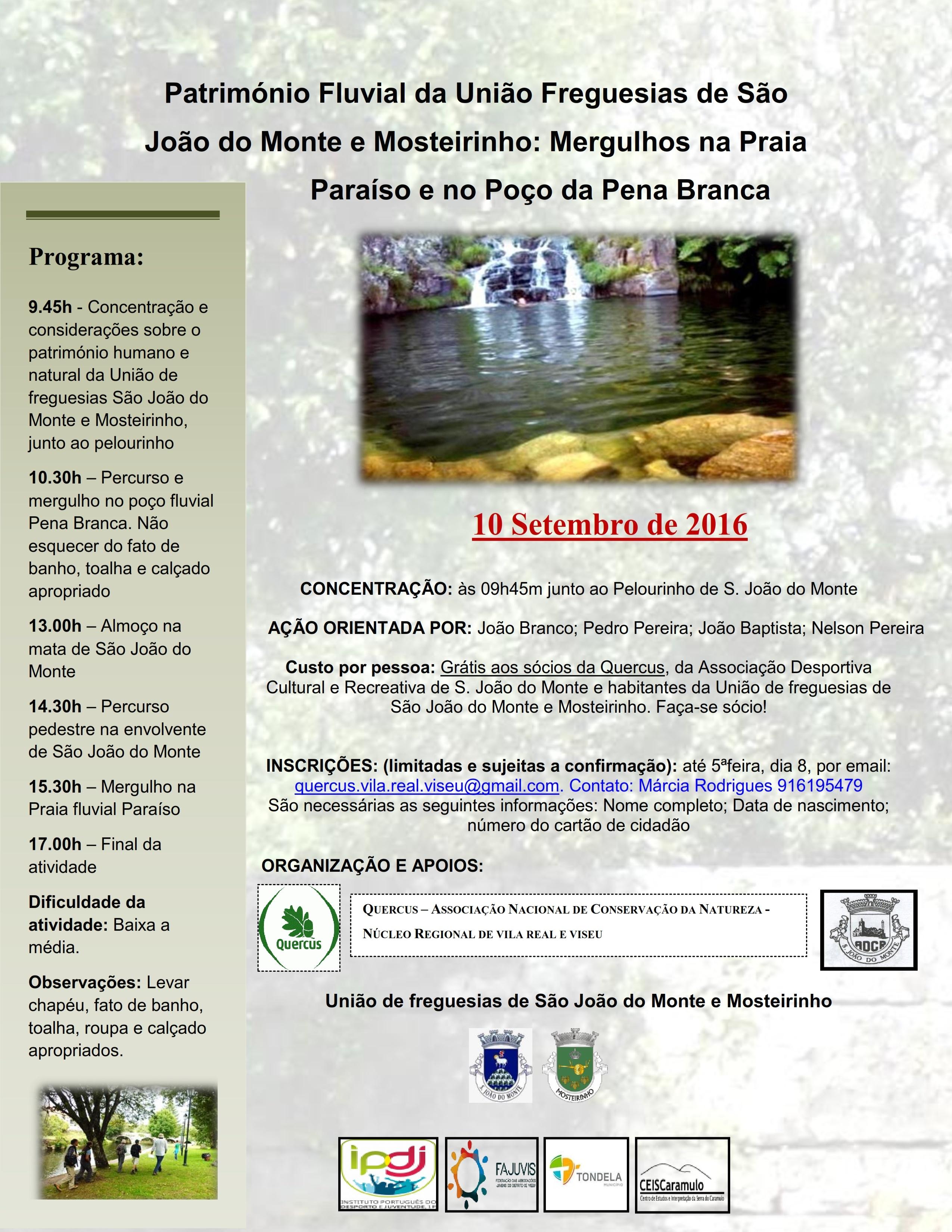 Património Fluvial de S. João do Monte e Mosteirinho