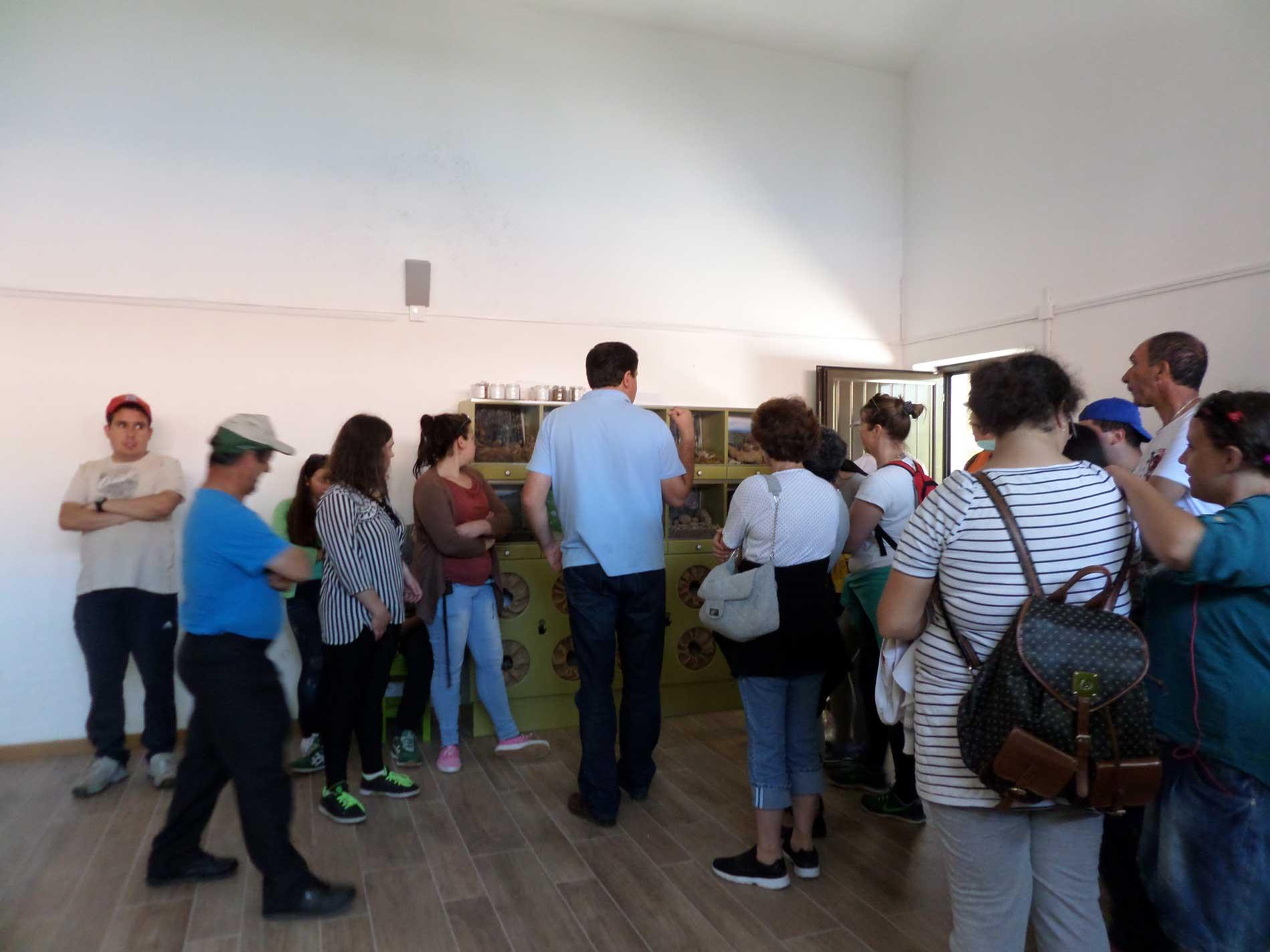 Formandos da ASSOL visitam o Posto de Observação da Natureza do Jueus