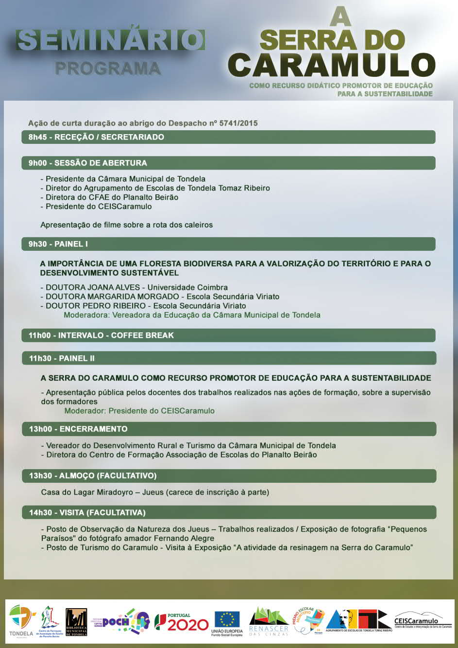 A Serra do Caramulo como Recurso Didáctico Promotor de Educação para a Sustentabilidade